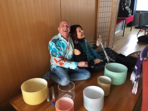 Mark David Sound Healer with Colette Baron-Reid