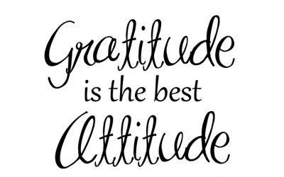 Want to Change your Life? Start practicing Gratitude.